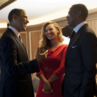 Beyonce and Jay-Z With President Obama