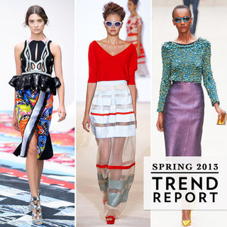London Fashion Week Spring 2013 Trends