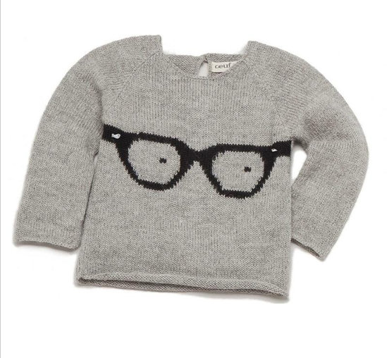 Oeuf Glasses Sweater ($84)