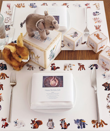 An Animal-Themed Table