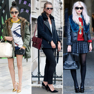 Faux Fur Collar Coats for Autumn from London Fashion Week
