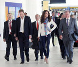 On Wednesday Sept. 19, Kate wore a casual outfit as she made her way home via Brisbane Airport.
