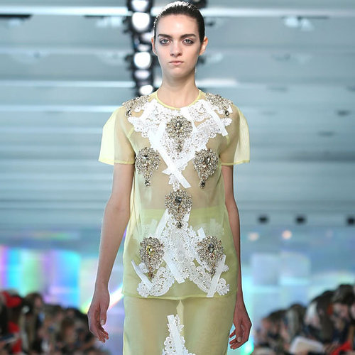 Pictures and Review of Christopher Kane Spring Summer London Fashion Week Runway Show