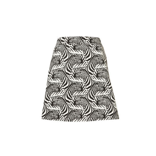 I love me a novelty pattern, and this cute zebra skirt from J.W. Anderson for Topshop is perfect for my mainly black and white wardrobe. I'll wear it with a grey tee (I know, so daring) and black, one-strap heels. — Alison, BellaSugar editor Skirt, approx $62, Topshop