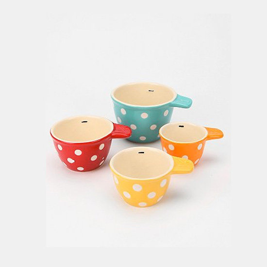 Polka-Dot Measuring Cups