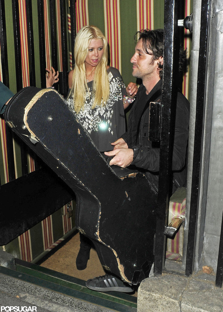 American Pie buddies Tara Reid and Thomas Ian Nicholas hung out.