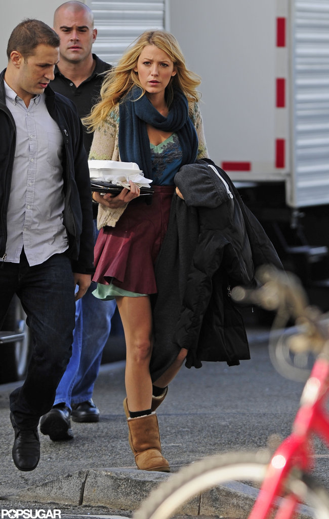 Blake Lively shot Gossip Girl.