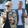 Gwen Stefani and Gavin Rossdale Walking in LA | Pictures
