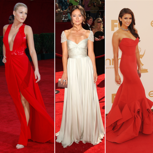 Fashion Flashback! The Best Red Carpet Looks from the 2012 Emmy Awards Past