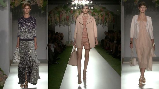 Buttery Leathers and Covetable Coats For Mulberry Spring 2013!