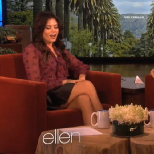 Jenna Dewan Interview On Ellen, Says Channing Tatum Strips Off At Home
