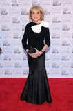 How adorable did Barbara Walters look in her black and white bow-embellished mermaid gown?