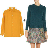 Fall means layering season, and we showed you the cutest ways to layer your blouses and sweaters.