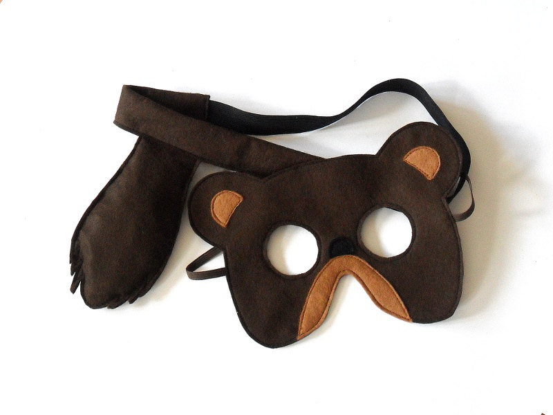 Bear Mask and Tail Set ($25)