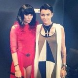 Jessie J and Ruby Rose made a super stylish pair. Source: Instagram user rubyrose86