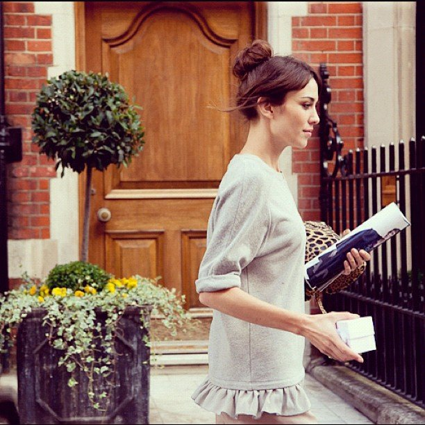 Alexa Chung was pretty as a picture as she was snapped by Bridget Fleming. Source: Instagram user bridgetfleming