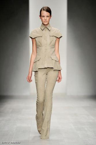 Todd Lynn London Fashion Week fashion show catwalk report Spring Summer 2013