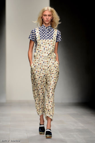 Kinder Aggugini London Fashion Week fashion show catwalk report Spring Summer 2013