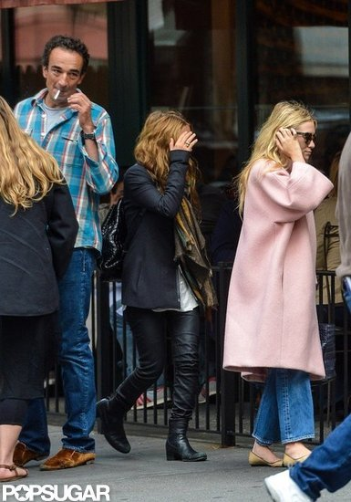 Mary-Kate and Ashley Olsen Lunch With Olivier Sarkozy