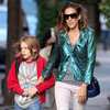 Metallic Blazers (Celebrity Pictures and Shopping)