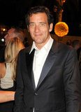 Clive Owen flashed his signature smirk at the HBO party.
