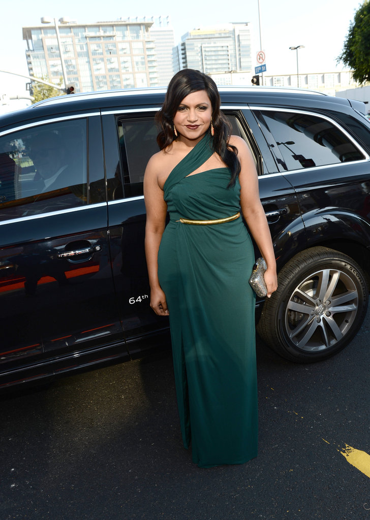 The Mindy Project's Mindy Kaling presented at the Emmys.