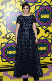 Girls star Lena Dunham posed at the HBO party.