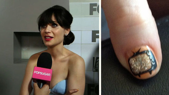 Video: Zooey Deschanel Talks New Job on New Girl and Sports Must-See Nail Art