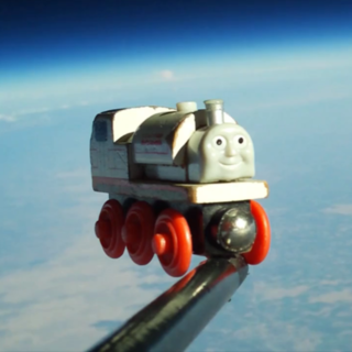 Toy Train in Space Video