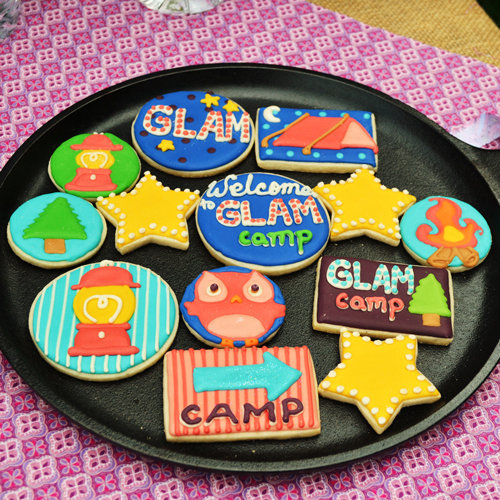 Camping-Themed Birthday Party For Little Girl