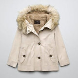 Zara Parka With Sheepskin Lining