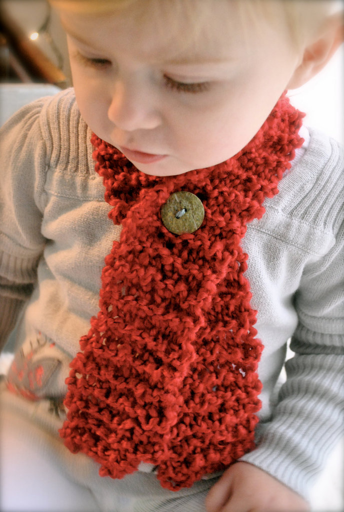 Baby Scarf With Button ($17)