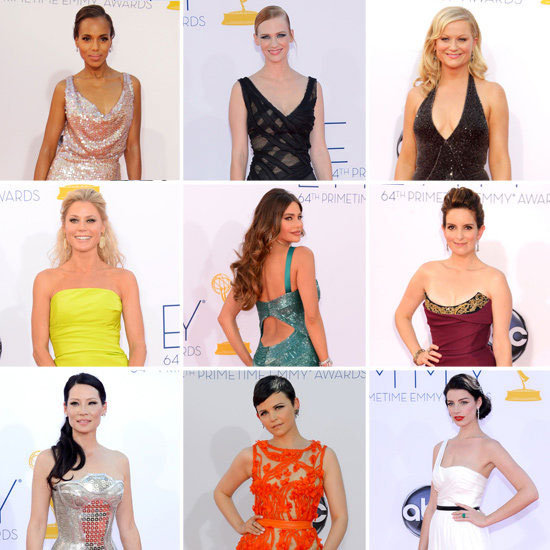 Pictures of Celebrities on the red carpet at the 2012 Emmy Awards: See Who Wore What! Sofia Vergara, Nicole Kidman & more!