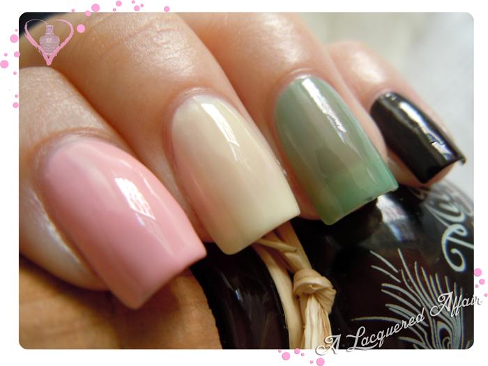 Megan Miller Pink Lily, Lemon Ice, Caribbean & Ganache