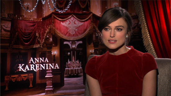 "Keira Knightley Talks About Playing ""Anti-Heroine"" Anna Karenina"