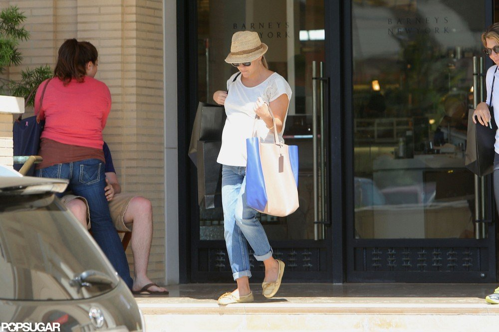 Reese Witherspoon left a store in LA.
