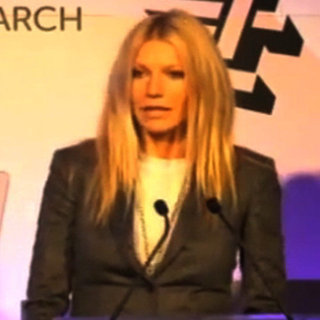 Gwyneth Paltrow Speech About Her Dad at Stand Up 2 Cancer London Event Video