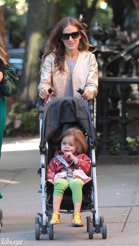 Sarah Jessica Parker got some fresh air with Tabitha during a stroll around NYC.