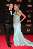 Trent Cotchin and Brooke Kennedy