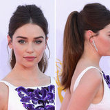 Get the Look: Game of Thrones Star Emilia Clarke's 2012 Emmy Awards Ponytail