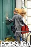 Scarlett Johansson Wraps Up a Parisian Shopping Spree