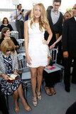 Blake Lively sat front row at Christian Dior in July 2005.