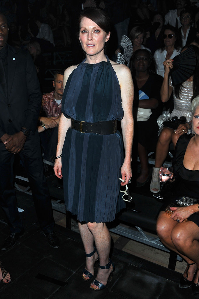 Julianne Moore attended the Lanvin show in September 2011.