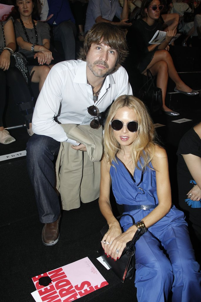 Rodger Berman stuck with Rachel Zoe at the October 2011 Viktor & Rolf runway.