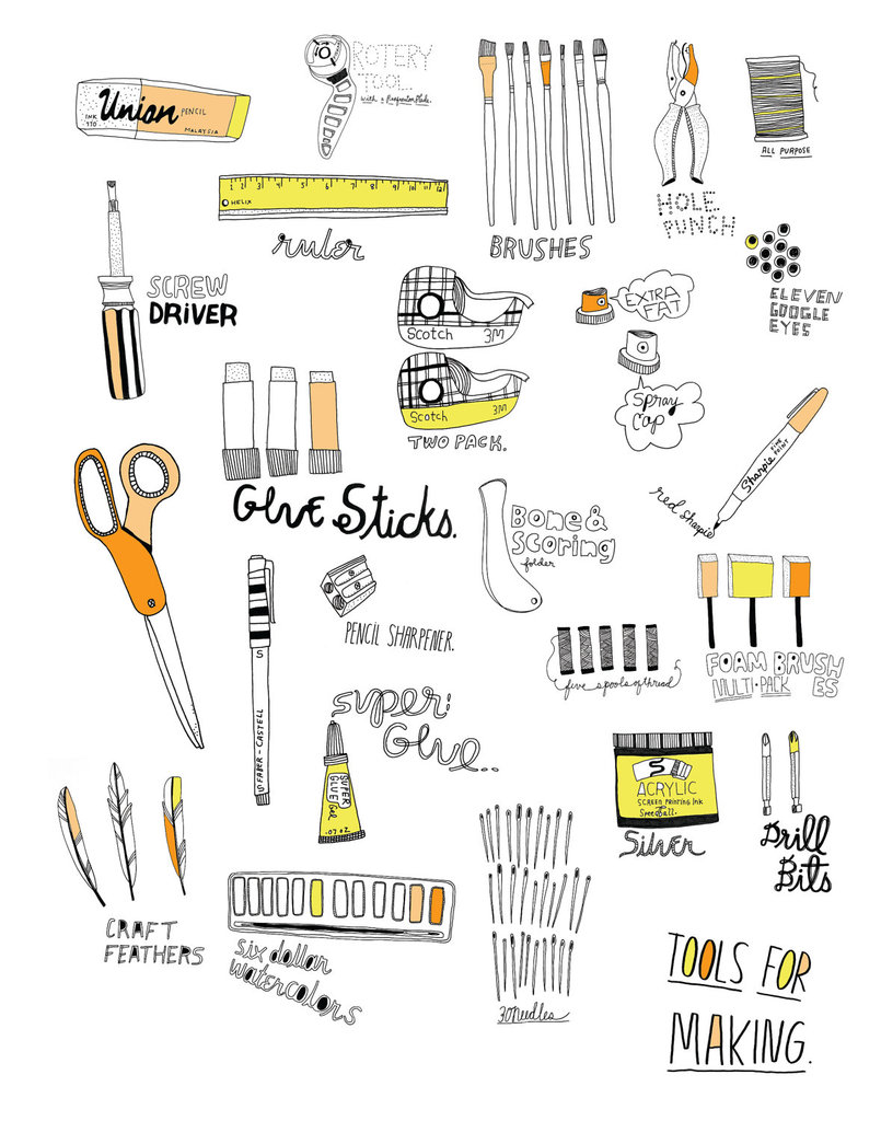 """""""Tools For Making"""" Print"""