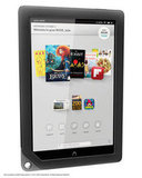 No camera — The Kindle Fire HD has a front-facing camera, while neither the Nook HD nor HD+ have a camera on board.