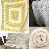 So Cozy: Hand-Knit Unisex Baby Blankets
