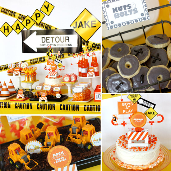 Construction Birthday Party Food Ideas: 5 Cool 1st Birthday Themes For Boys