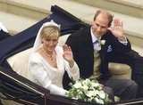 Prince Edward and Sophie Rhys-Jones  The Bride: Sophie Rhys-Jones, a PR professional. The Groom: Prince Edward, the youngest son of Queen Elizabeth II. When: June 19, 1999. Prince Edwa