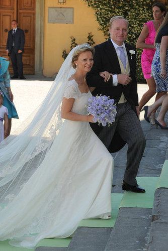 Princess Maria Carolina and Albert Brenninkmeijer The Bride: Princess Maria Carolina of Bourbon-Parma. The Groom: Albert Brenninkmeijer. When: June 16, 2012. Where: Florence, Italy.